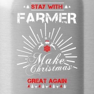 Stay with Farmer T Shirts - Water Bottle