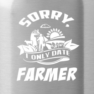 I only date Farmer T Shirts - Water Bottle