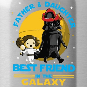 Father and Daughter in the Galaxy - Water Bottle