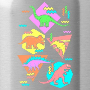 Nineties Dinosaurs Pattern - Water Bottle