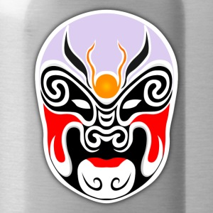 japanese mask - Water Bottle