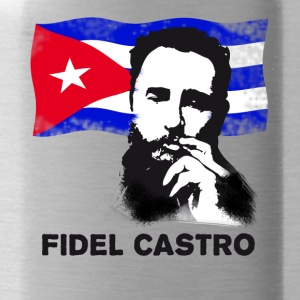fidel castro dead revolution cuba - Water Bottle