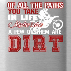 Dirt Bike Shirt - Water Bottle