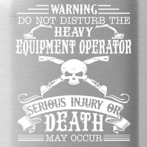 Heavy Equipment Operator Shirt - Water Bottle