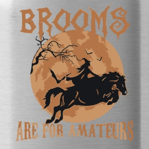 Brooms Are for amateurs halloween shirt - Water Bottle