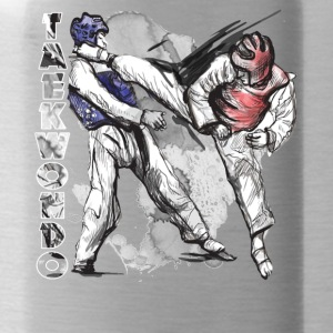 taekwondo tee shirt - Water Bottle