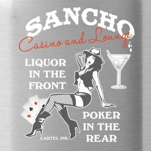 Sancho casino and lounge Liquor in the front - Water Bottle
