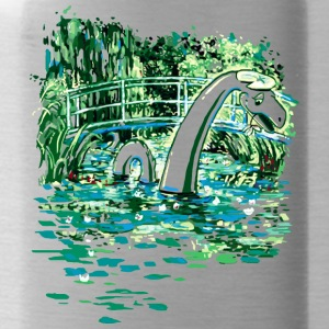 Water Lilies and Nessy - Water Bottle