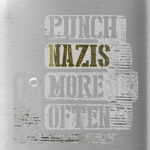 Punch More Nazis Shirt Limited - Water Bottle