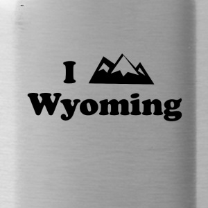 wyoming mountain - Water Bottle