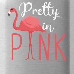 Pretty in Pink - Flamingo - Water Bottle