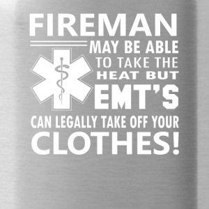 EMTs Legally t Take Off Your Clothes - Water Bottle