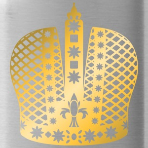 ornate-king-vip-crown-gold-golden-crown-royal-boss - Water Bottle