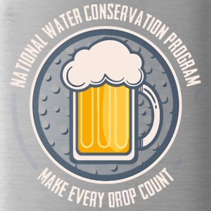 Conserve Water - Water Bottle