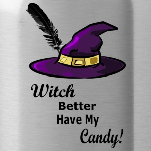 witch hat - Water Bottle