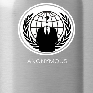 ANONYMOUS GROUP Occupy Hacktivist PIPA SOPA ACTA - Water Bottle
