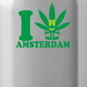 I Love Amsterdam - Water Bottle