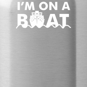 On A Boat - Water Bottle