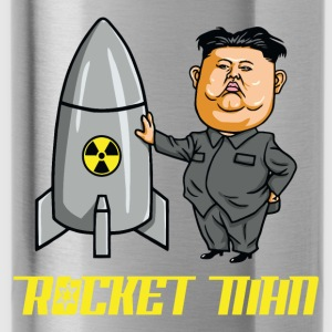 President Trump Called Kim Jong Un Rocketman - Water Bottle