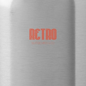 Retro logo1 - Water Bottle