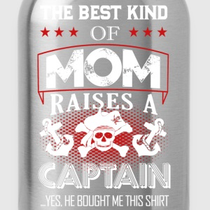 Captain Mom Shirt - Water Bottle