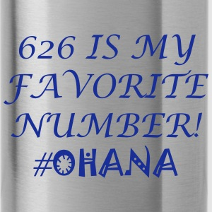 626 Is My Favorite Number! - Water Bottle