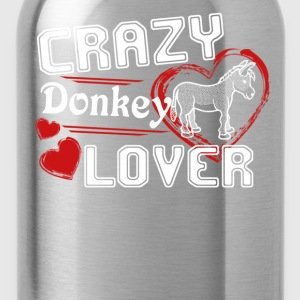 Donkey Lover Shirt - Water Bottle