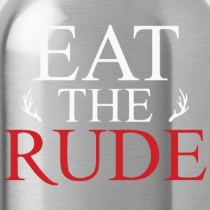 Eat the RUDE - Water Bottle