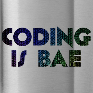 coding is bae - Water Bottle