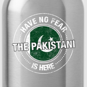 Have No Fear The Pakistani Is Here Shirt - Water Bottle