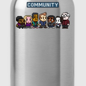 community 8 bit - Water Bottle