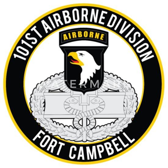 101st Airborne CFMB Travel Mug - white