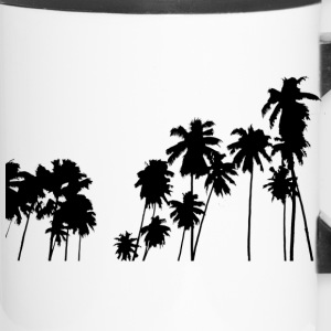Palm trees - Travel Mug