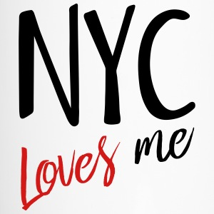NYC Loves Me in black new - Travel Mug