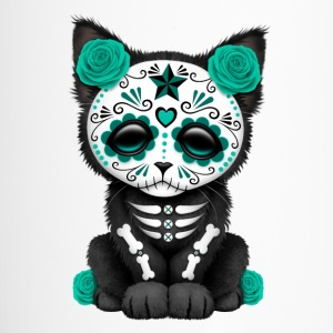 Blue Sugar Skull Kitten