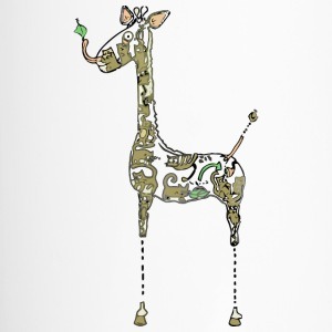 Blueprint for Building a Giraffe - Travel Mug