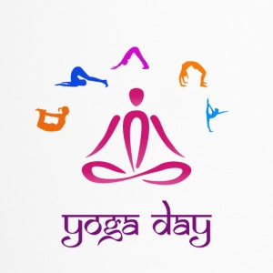yoga day 01 - Travel Mug