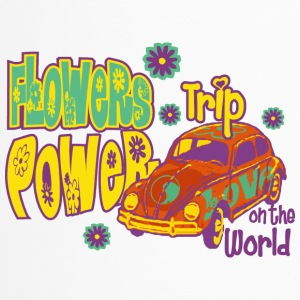 FLOWERS POWER trip - Travel Mug
