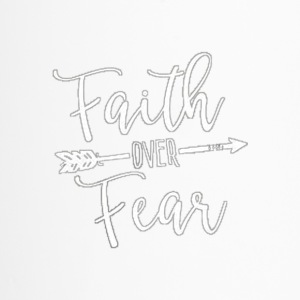 faith over fear - Travel Mug