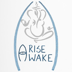 Oviyam Ganesha Arise Awake Yoga Meditation T Shirt - Travel Mug