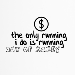 Running out of money - Travel Mug