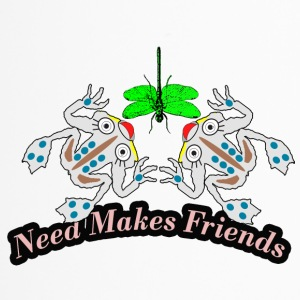 need makes friends - Travel Mug