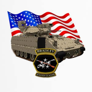 Bradley Fighting Vehicle Flag Logo - Travel Mug