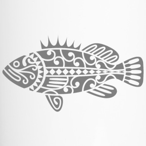 Fish Maori Grey - Travel Mug