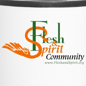 Flesh and Spirit Community T-Shirt - Travel Mug