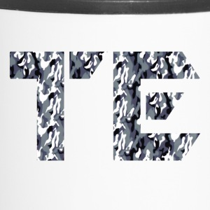 te grey camo sign - Travel Mug