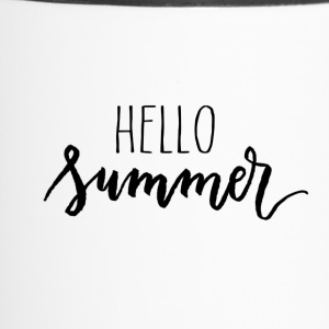 hello summer - Travel Mug