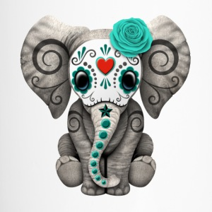 Blue Sugar Skull Elephant