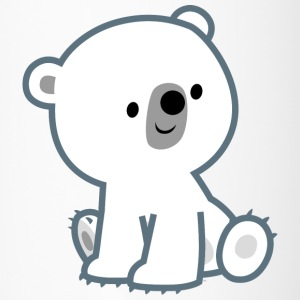 Sweet Cartoon Polar Bear Cub by Cheerful Madness!!