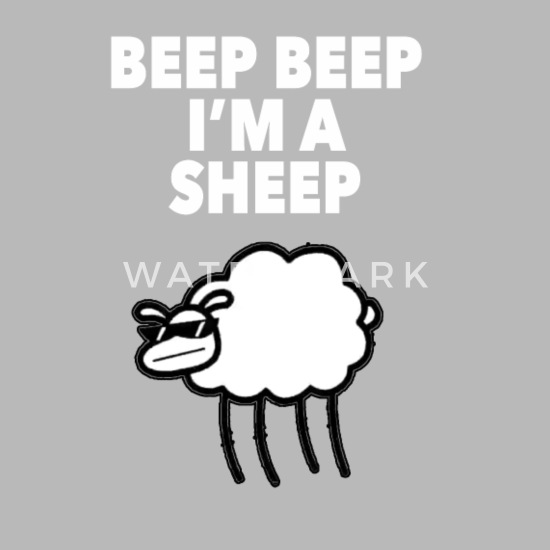 Funny Animal T-Shirt Beep Beep Im A Sheep